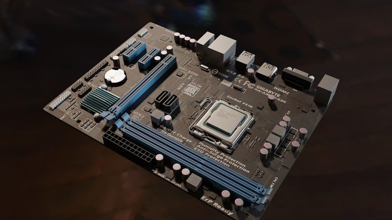 cara kerja motherboard